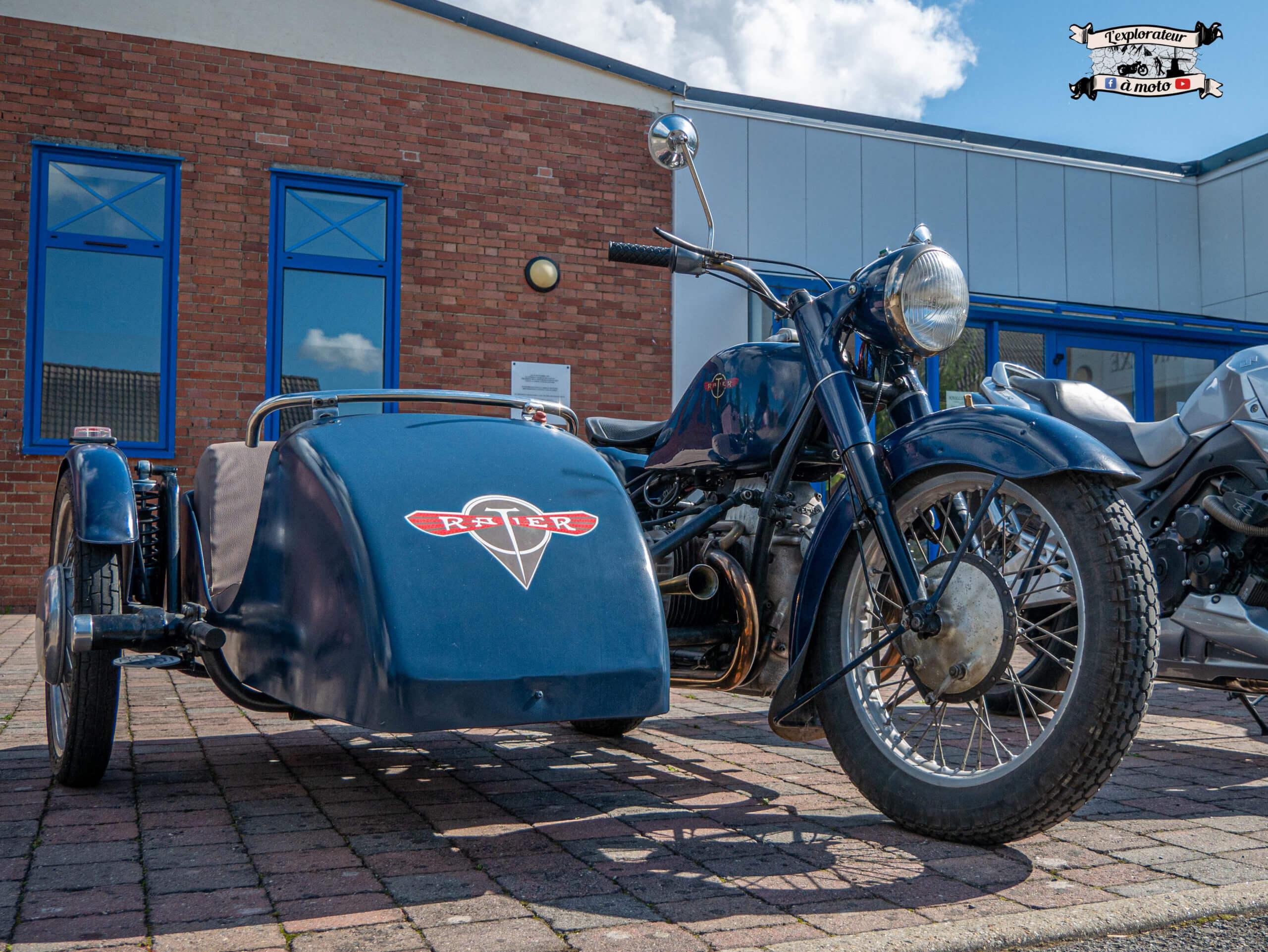 Side Car Ratier L7 bleu