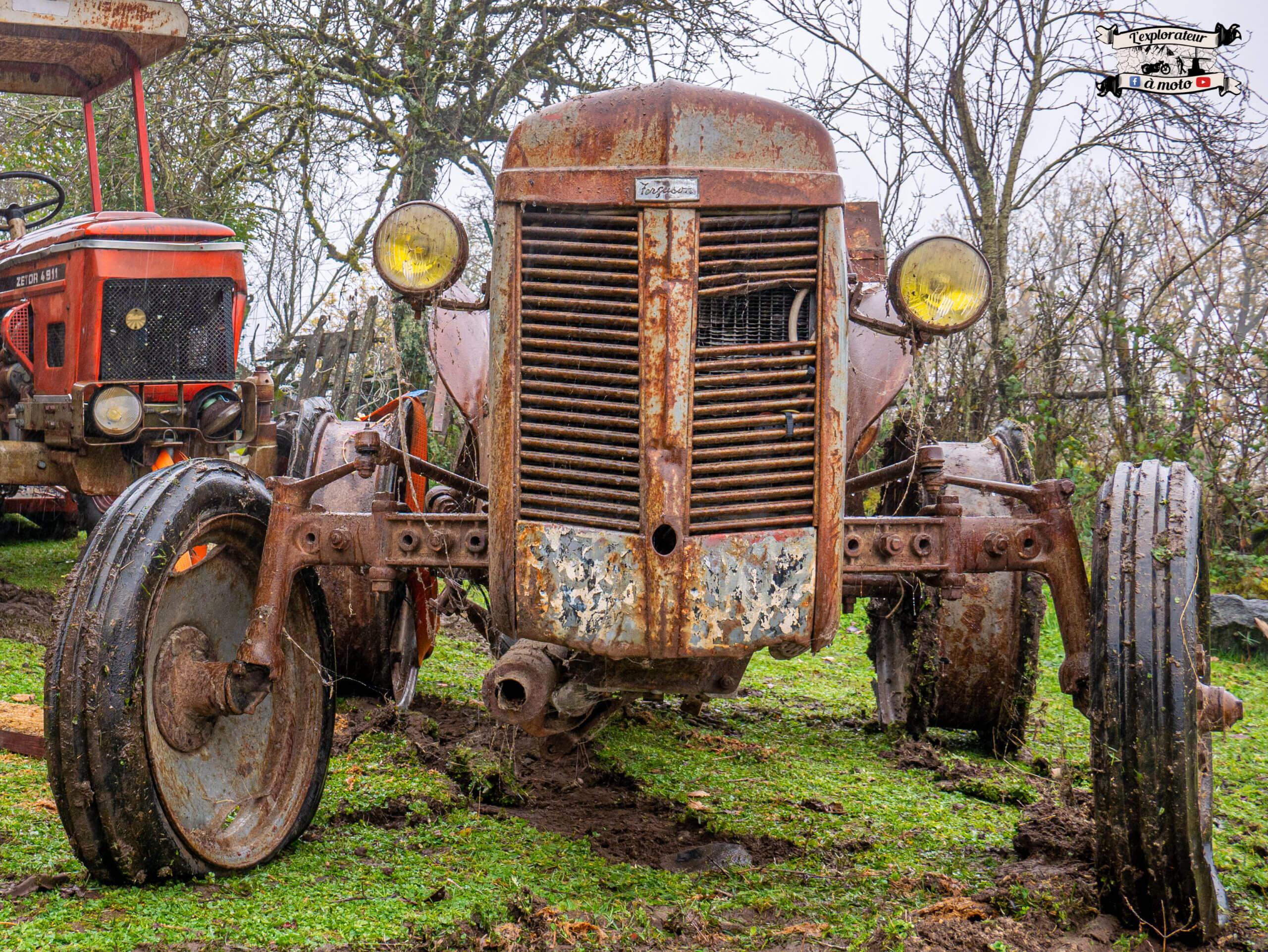 Calandre Tracteur Massey Fergusson Tea 20