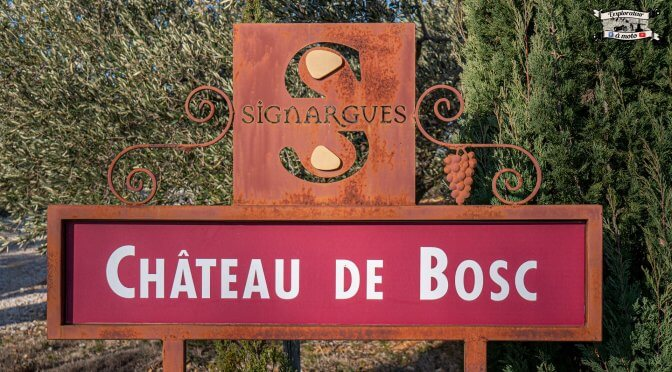 Découverte du Château de Bosc, Domazan (30)
