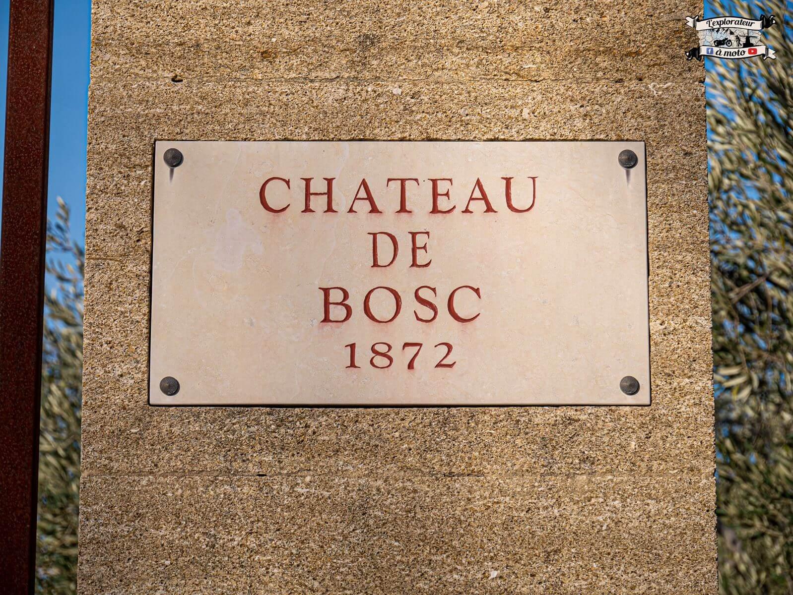 Chateau de Bosc 1872 - lexplorateuramoto.com