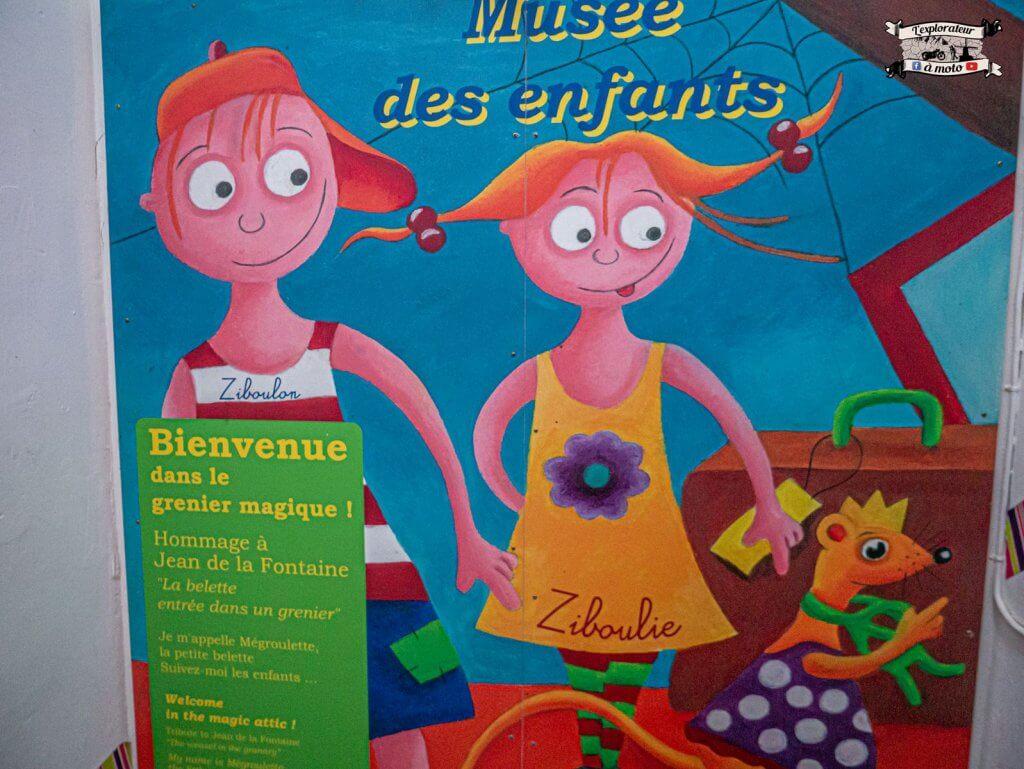 Musée des enfants, Chateau de Bosc - lexplorateuramoto.com