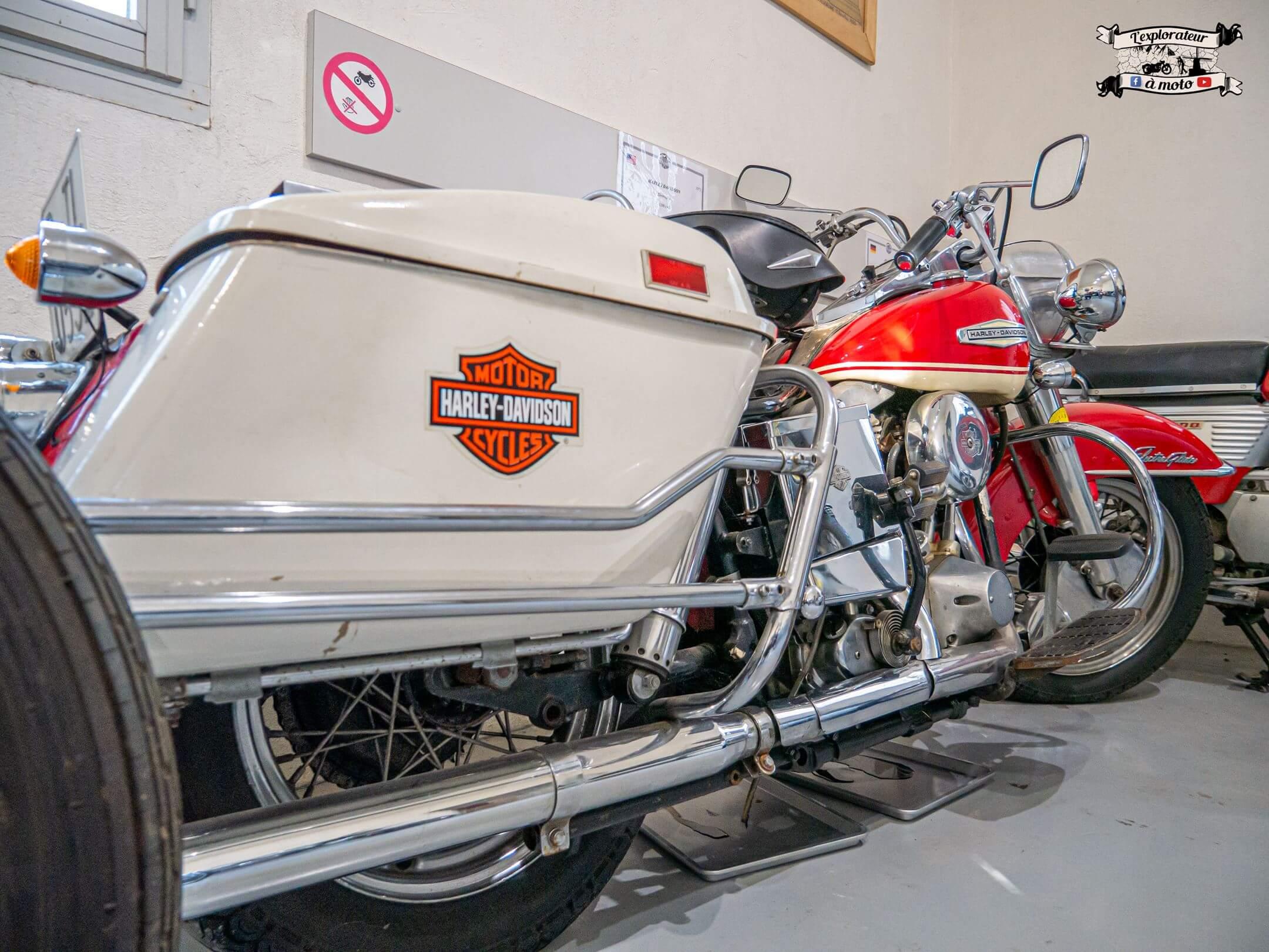 Harley-Davidson, Château de Bosc 02 - lexplorateuramoto.com