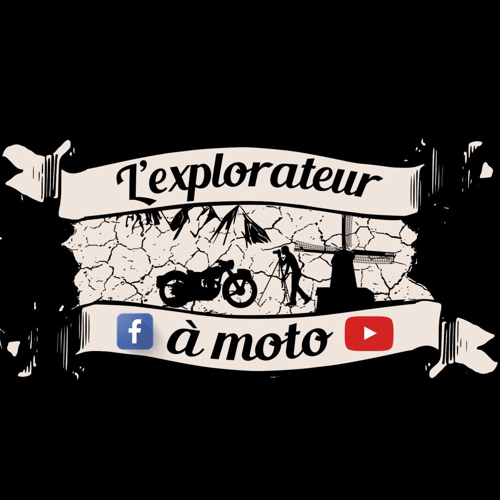 Logo L'explorateur à moto