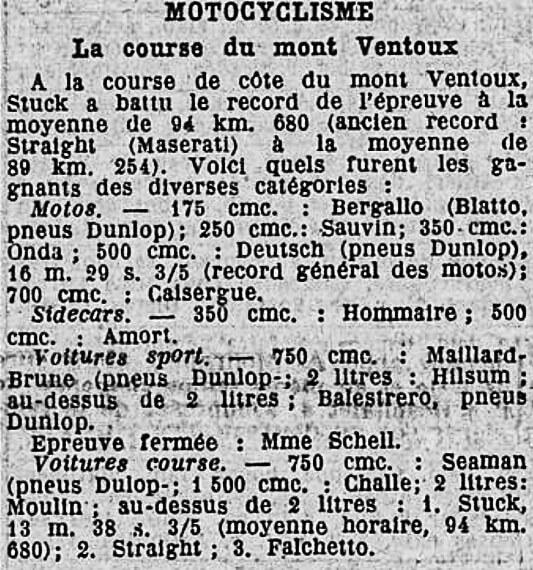 La Croix - 19 septembre 1934