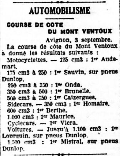 Le Progres de la Cote d'Or - 4 septembre 1933