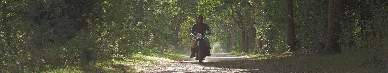 L'explorateur à moto