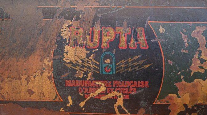 MOTOCYCLETTE RUPTA 1913