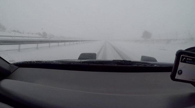 Capot Volvo 480 ES neige