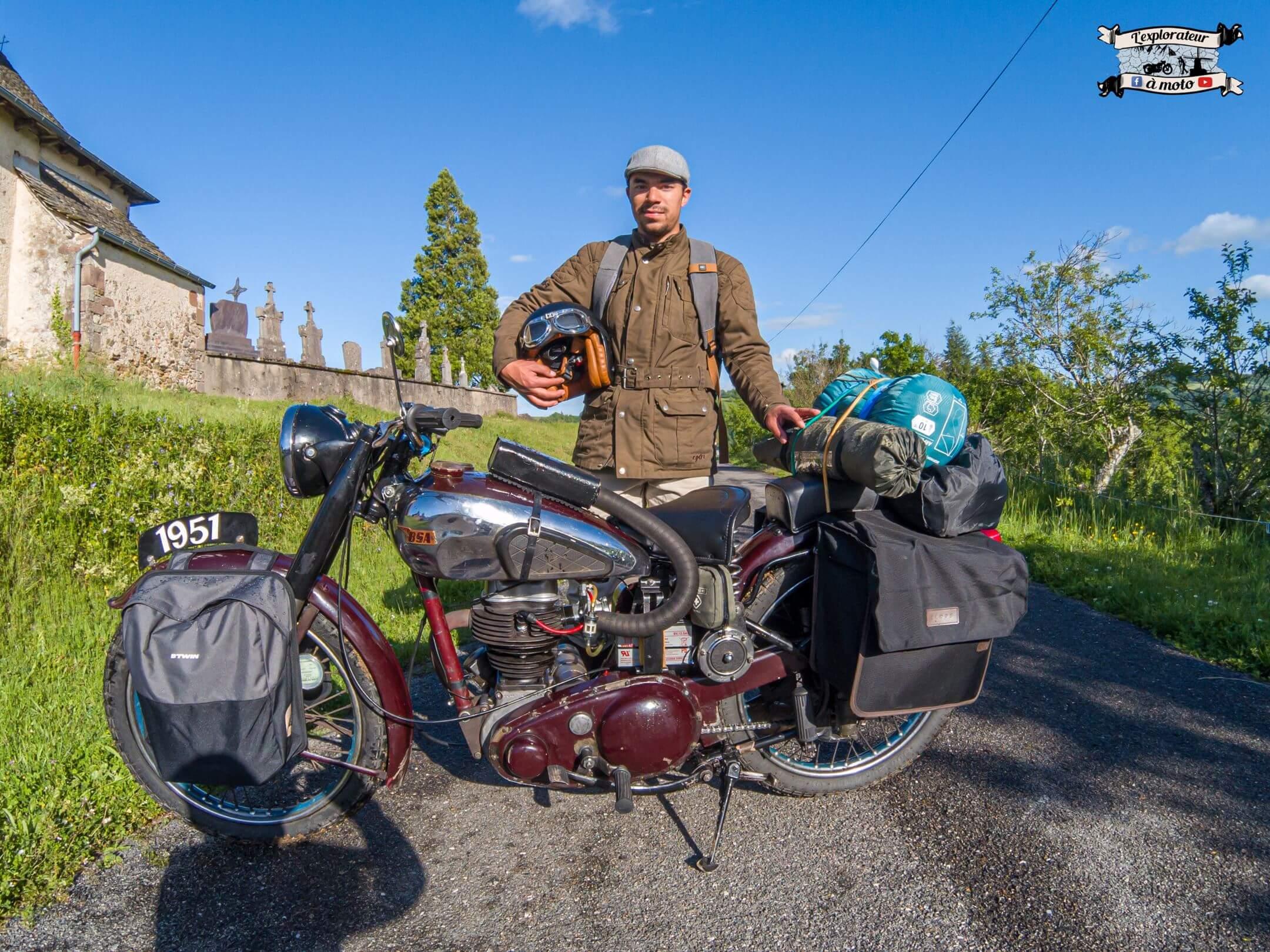 Quentin L'explorateur a moto
